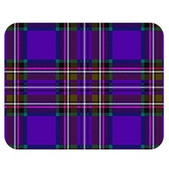 Purple Tartan Plaid Double Sided Flano Blanket (medium)  by allthingseveryone