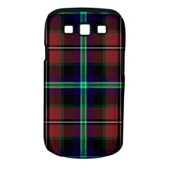 Purple And Red Tartan Plaid Samsung Galaxy S Iii Classic Hardshell Case (pc+silicone) by allthingseveryone