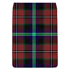 Purple And Red Tartan Plaid Flap Covers (s)  by allthingseveryone
