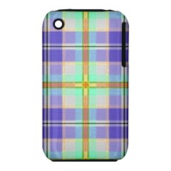 Blue And Yellow Plaid Iphone 3s/3gs by allthingseveryone