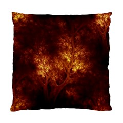Artsy Brown Trees Standard Cushion Case (one Side) by allthingseveryone