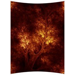Artsy Brown Trees Back Support Cushion by allthingseveryone