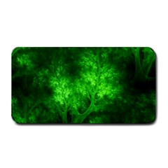 Artsy Bright Green Trees Medium Bar Mats by allthingseveryone