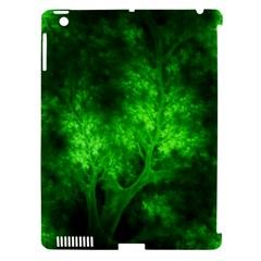 Artsy Bright Green Trees Apple Ipad 3/4 Hardshell Case (compatible With Smart Cover) by allthingseveryone