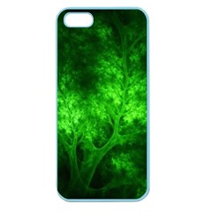 Artsy Bright Green Trees Apple Seamless Iphone 5 Case (color) by allthingseveryone
