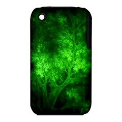 Artsy Bright Green Trees Iphone 3s/3gs by allthingseveryone