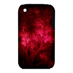 Artsy Red Trees Iphone 3s/3gs by allthingseveryone