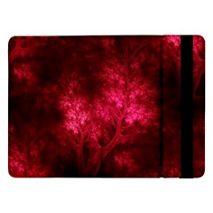 Artsy Red Trees Samsung Galaxy Tab Pro 12 2  Flip Case by allthingseveryone