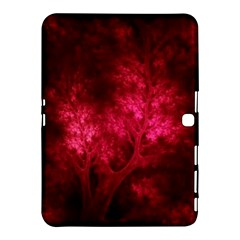 Artsy Red Trees Samsung Galaxy Tab 4 (10 1 ) Hardshell Case  by allthingseveryone