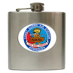 Coast Guard Air Station Borinquen Puerto Rico Hip Flask (6 Oz) by allthingseveryday