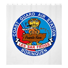 Coast Guard Air Station Borinquen Puerto Rico Shower Curtain 66  X 72  (large) by allthingseveryday