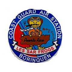 Coast Guard Air Station Borinquen Puerto Rico Standard 15  Premium Flano Round Cushions by allthingseveryday