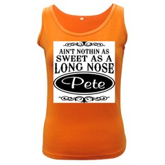 Long Nose Pete Women s Dark Tank Top by teambridelasvegas