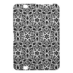 Star With Twelve Rays Pattern Black White Kindle Fire Hd 8 9  by Cveti