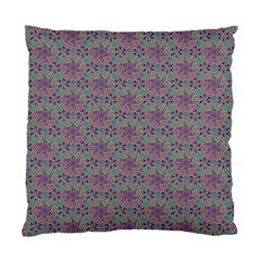 Flower Kaleidoscope Hand Drawing 2 Standard Cushion Case (two Sides) by Cveti