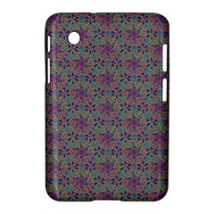 Flower Kaleidoscope Hand Drawing 2 Samsung Galaxy Tab 2 (7 ) P3100 Hardshell Case  by Cveti