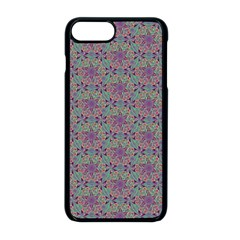 Flower Kaleidoscope Hand Drawing 2 Apple Iphone 8 Plus Seamless Case (black) by Cveti