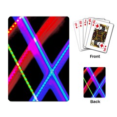 Xmas Light Paintings Playing Card by Celenk