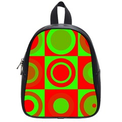 Redg Reen Christmas Background School Bag (small) by Celenk
