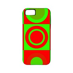 Redg Reen Christmas Background Apple Iphone 5 Classic Hardshell Case (pc+silicone) by Celenk