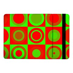 Redg Reen Christmas Background Samsung Galaxy Tab Pro 10 1  Flip Case