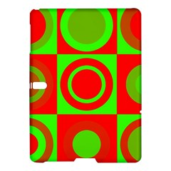 Redg Reen Christmas Background Samsung Galaxy Tab S (10 5 ) Hardshell Case  by Celenk