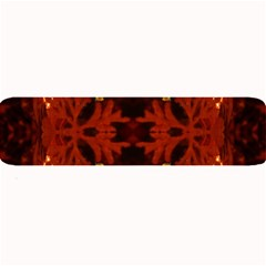 Red Abstract Large Bar Mats by Celenk