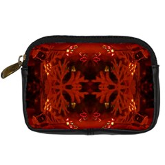 Red Abstract Digital Camera Cases by Celenk