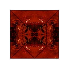 Red Abstract Acrylic Tangram Puzzle (4  X 4 )