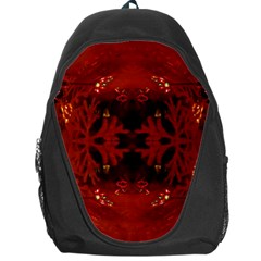 Red Abstract Backpack Bag by Celenk