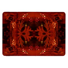 Red Abstract Samsung Galaxy Tab 8 9  P7300 Flip Case by Celenk