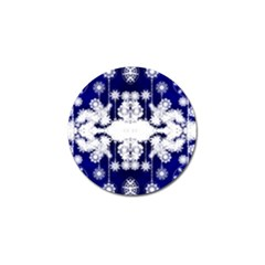 The Effect Of Light  Very Vivid Colours  Fragment Frame Pattern Golf Ball Marker by Celenk