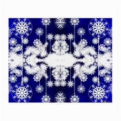 The Effect Of Light  Very Vivid Colours  Fragment Frame Pattern Small Glasses Cloth by Celenk
