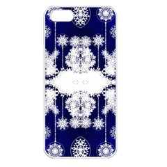 The Effect Of Light  Very Vivid Colours  Fragment Frame Pattern Apple Iphone 5 Seamless Case (white) by Celenk