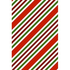 Christmas Color Stripes 5 5  X 8 5  Notebooks by Celenk