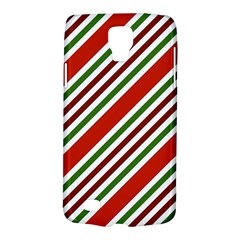 Christmas Color Stripes Galaxy S4 Active by Celenk