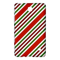 Christmas Color Stripes Samsung Galaxy Tab 4 (8 ) Hardshell Case  by Celenk