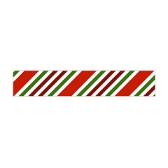 Christmas Color Stripes Flano Scarf (mini) by Celenk