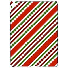 Christmas Color Stripes Apple Ipad Pro 12 9   Hardshell Case by Celenk