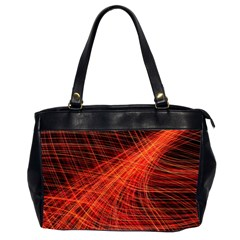 A Christmas Light Painting Office Handbags (2 Sides)  by Celenk