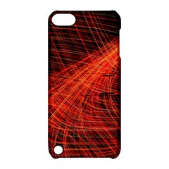 A Christmas Light Painting Apple Ipod Touch 5 Hardshell Case With Stand by Celenk