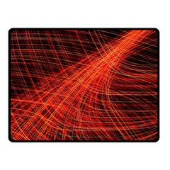 A Christmas Light Painting Double Sided Fleece Blanket (small)  by Celenk