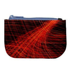 A Christmas Light Painting Large Coin Purse by Celenk
