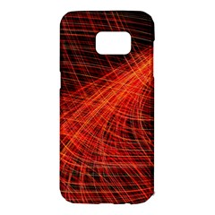 A Christmas Light Painting Samsung Galaxy S7 Edge Hardshell Case