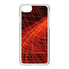 A Christmas Light Painting Apple Iphone 7 Seamless Case (white) by Celenk