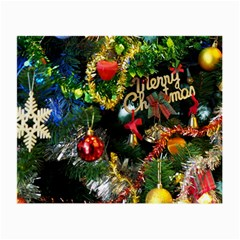 Decoration Christmas Celebration Gold Small Glasses Cloth by Celenk