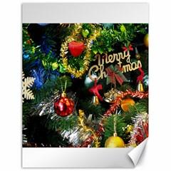 Decoration Christmas Celebration Gold Canvas 18  X 24   by Celenk