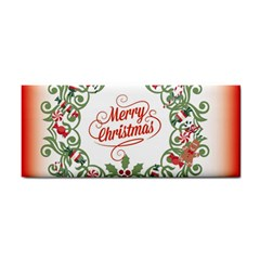 Merry Christmas Wreath Cosmetic Storage Cases by Celenk