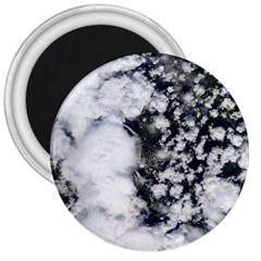 Earth Right Now 3  Magnets by Celenk