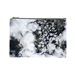 Earth Right Now Cosmetic Bag (large)  by Celenk